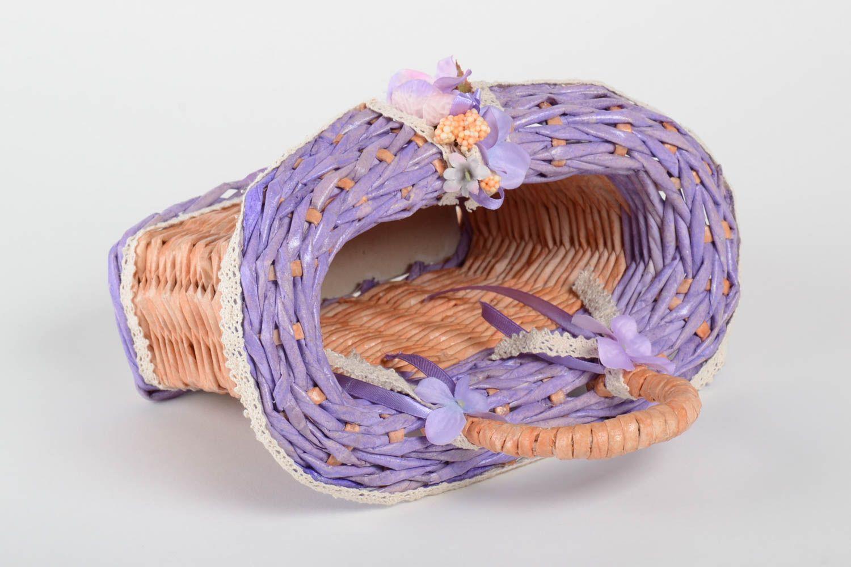 Madeheart handmade deko korb wohnzimmer deko geschenk for Korb deko