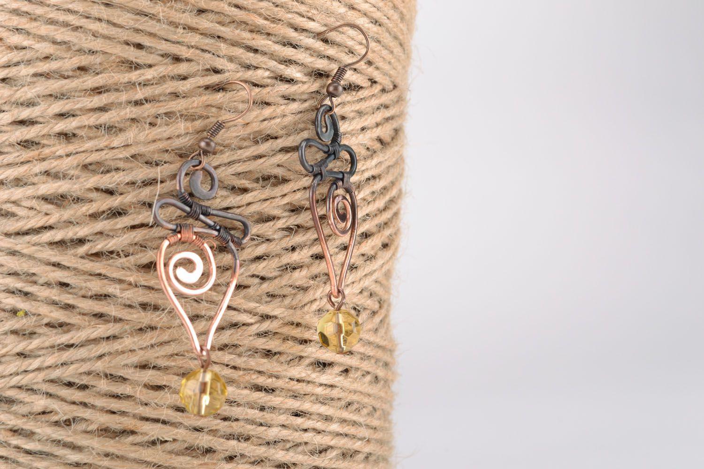 Dangle earrings Pike photo 5