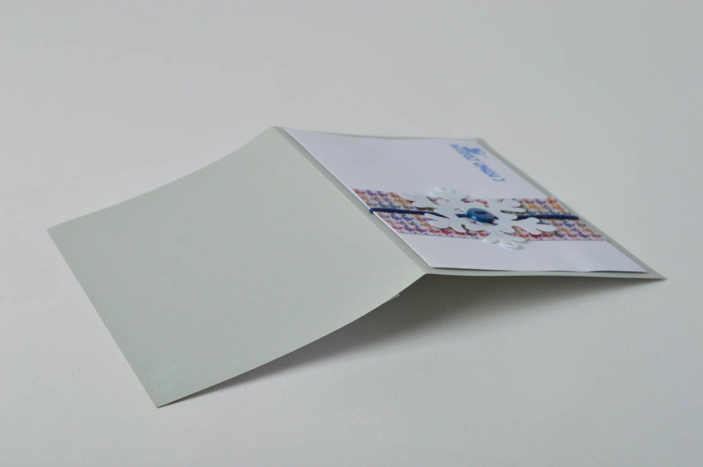 Handmade Christmas card homemade cards New Year greeting card souvenir ideas photo 5