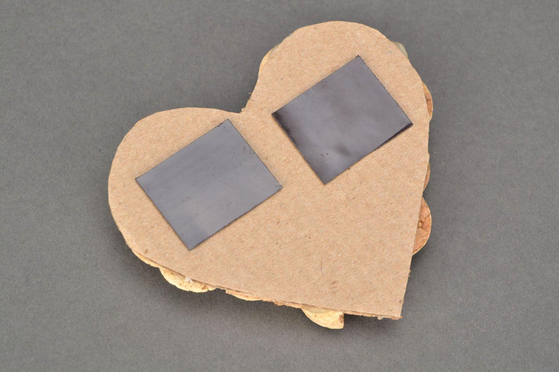 Cork fridge magnet photo 3