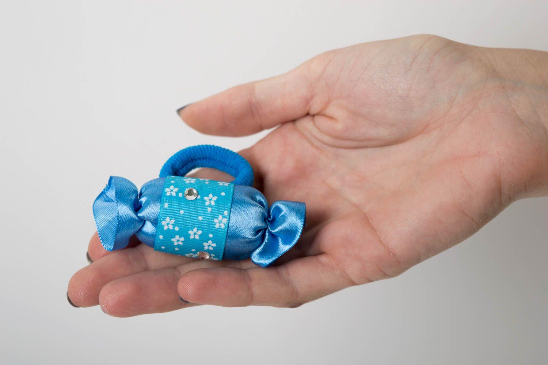 Handmade scrunchy designer accessory unusual hair scrunchy gift ideas photo 5