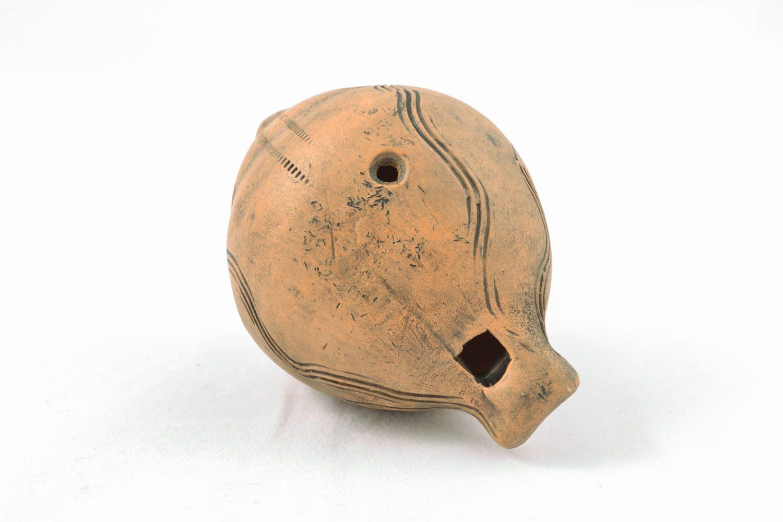 Ceramic penny whistle photo 5