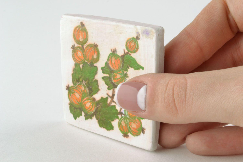 Ceramic magnet for fridge Goosebumps photo 2