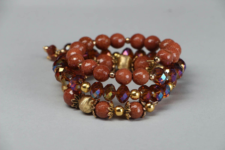 Aventurine stone bracelet photo 1