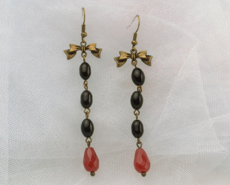 Long earrings-pendants photo 1