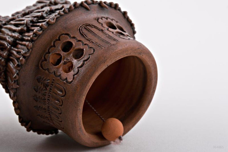 Decorative ceramic bell photo 2