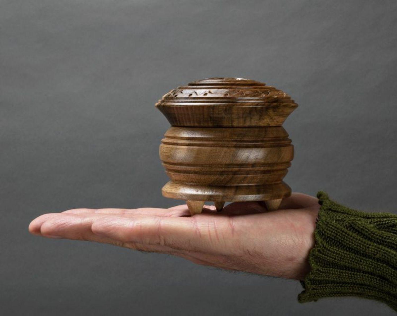 Caja de madera pequeña  foto 5