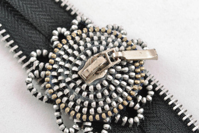 Wrist bracelet with zipper photo 5