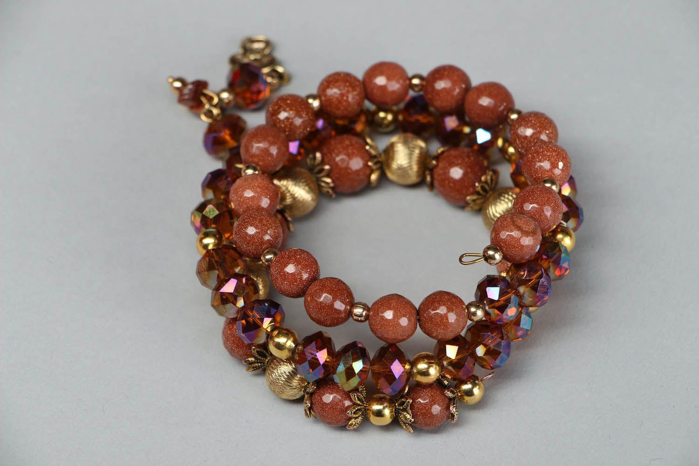 Aventurine stone bracelet photo 2