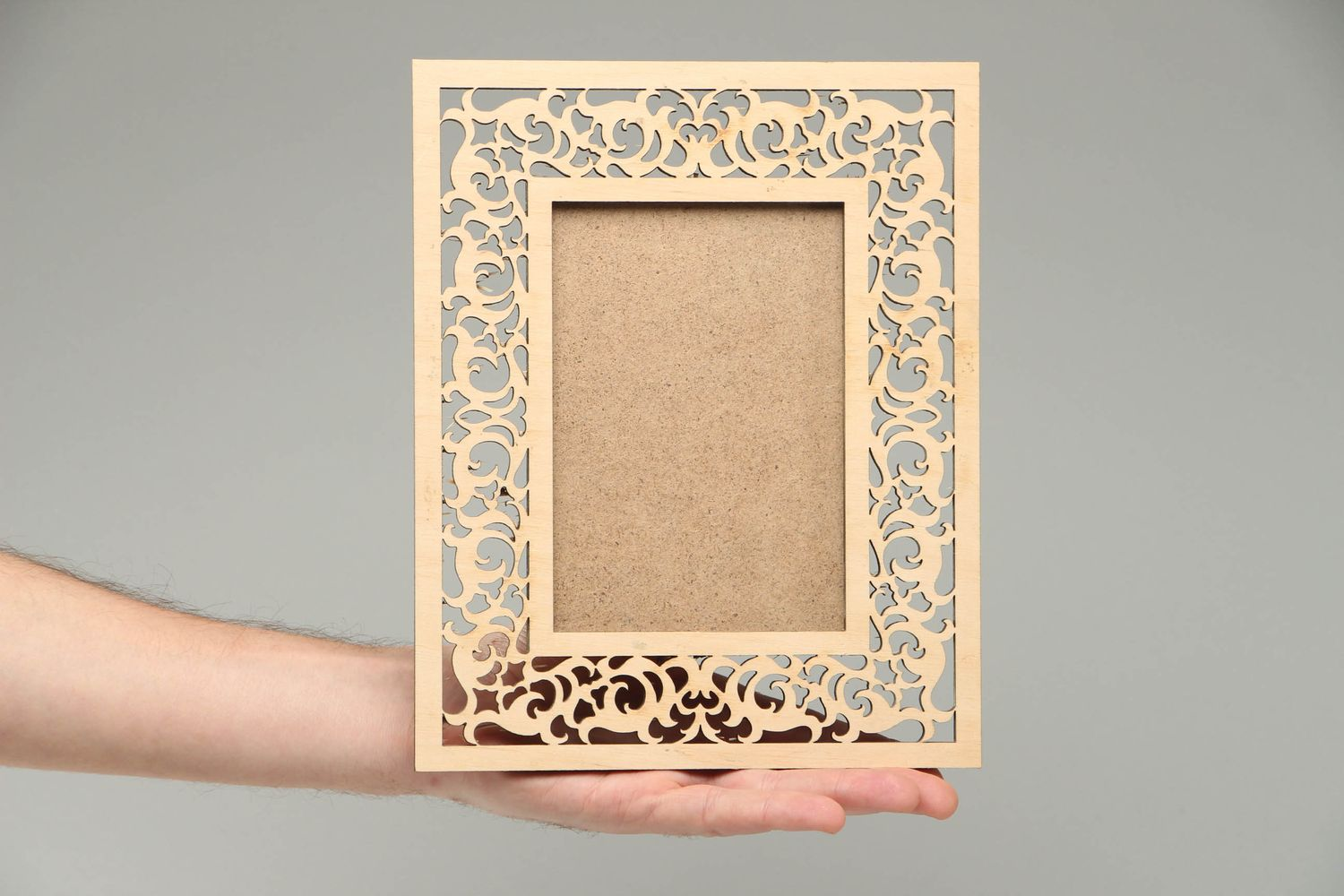 boxes for decoupage Plywood craft blank photo frame - MADEheart.com