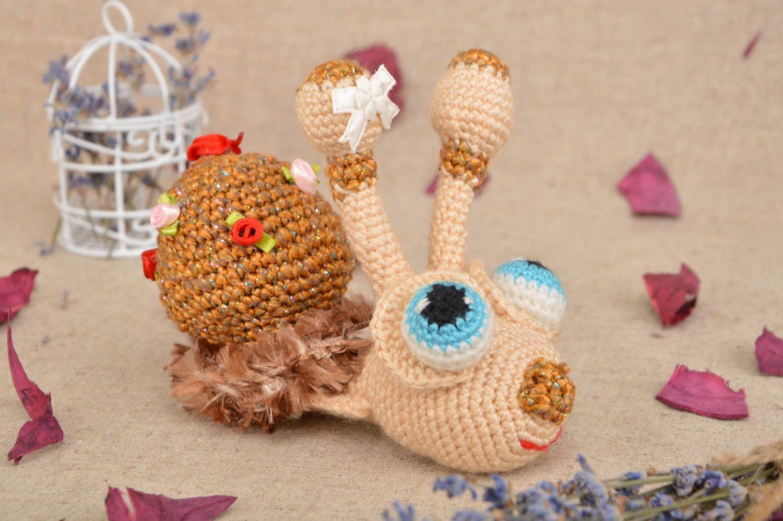 Игрушки для декора крючком