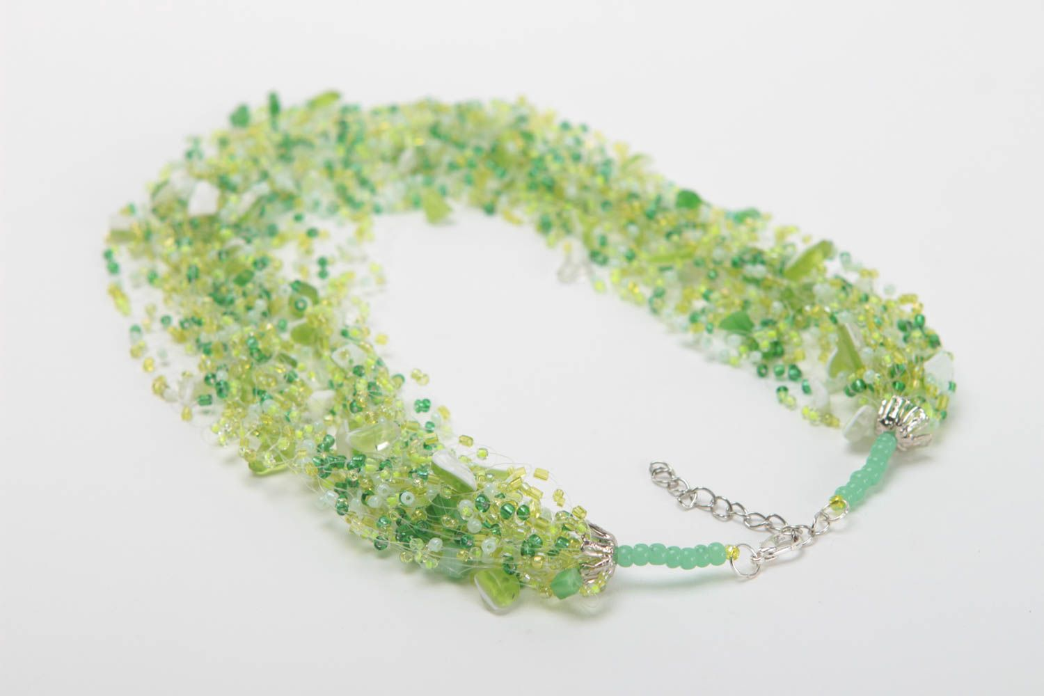 Designer jewelry handmade beaded necklace women accessories gifts for women photo 4