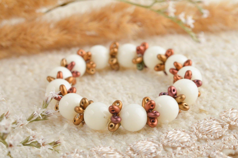Wrist bracelet handmade jewellery bead bracelet fashion accessories gift for her photo 1