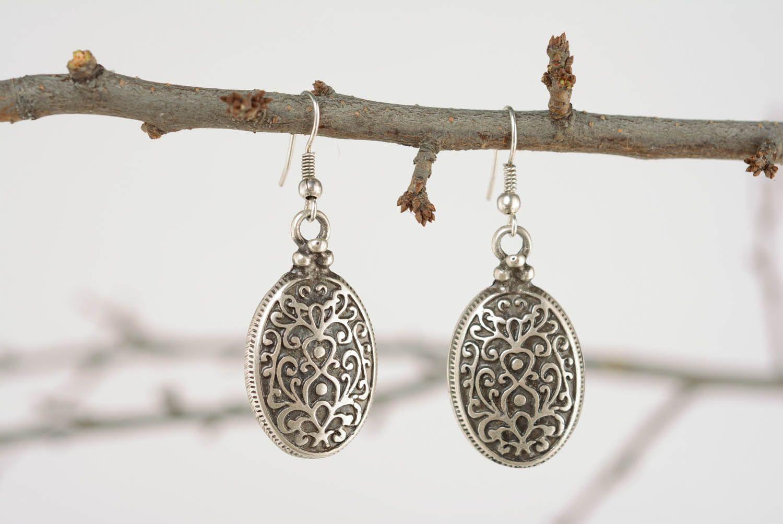 Ohrringe aus Metall Byzanz foto 1