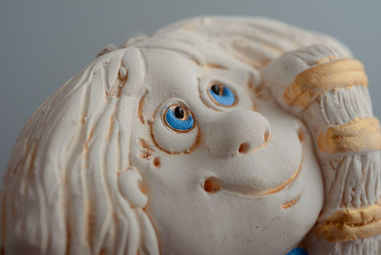 Designer ceramic bell Brownie photo 2