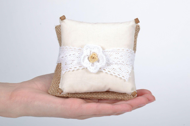 Homemade sachet pillow photo 5