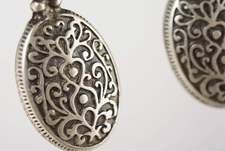 Ohrringe aus Metall Byzanz foto 2