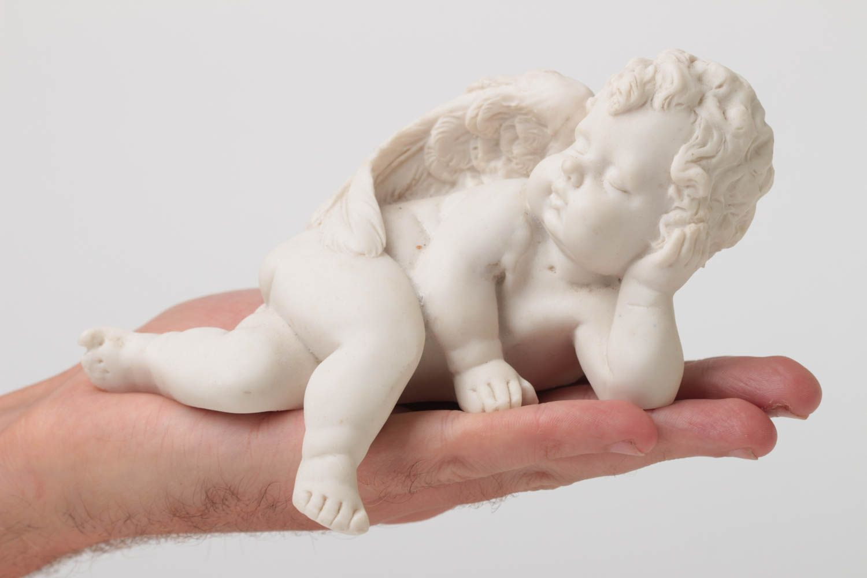 figurines à peindre Figurine à peindre fait main Petite statuette blanc ange Déco maison design - MADEheart.com