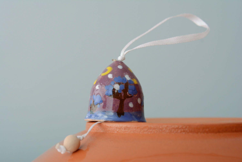 Handmade painted bell photo 1