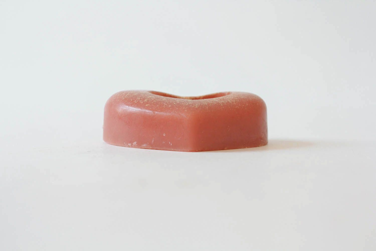 Soap with pink clay photo 1