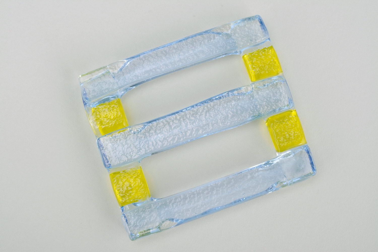 scarf clips Glass fusing scarf holder