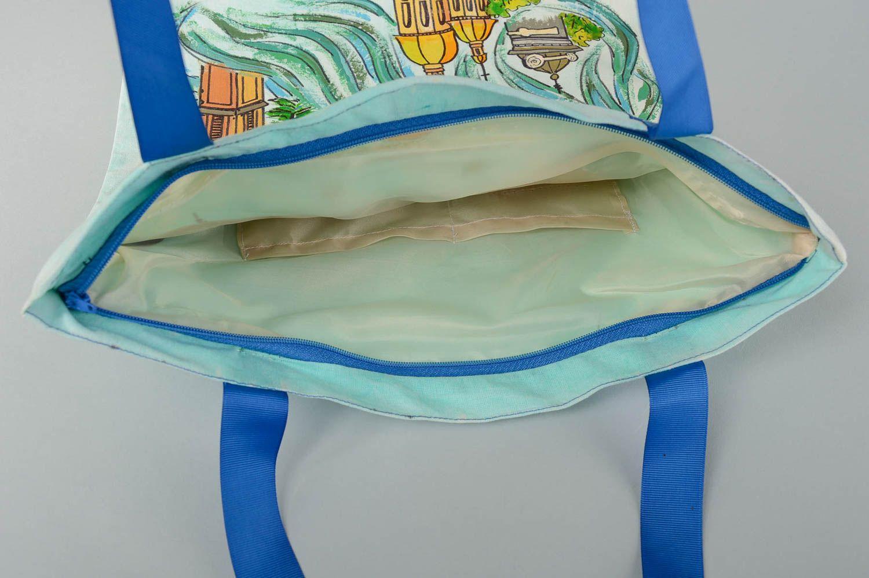 Designer bag handmade shoulder bag for women shoulder bag with painting photo 3