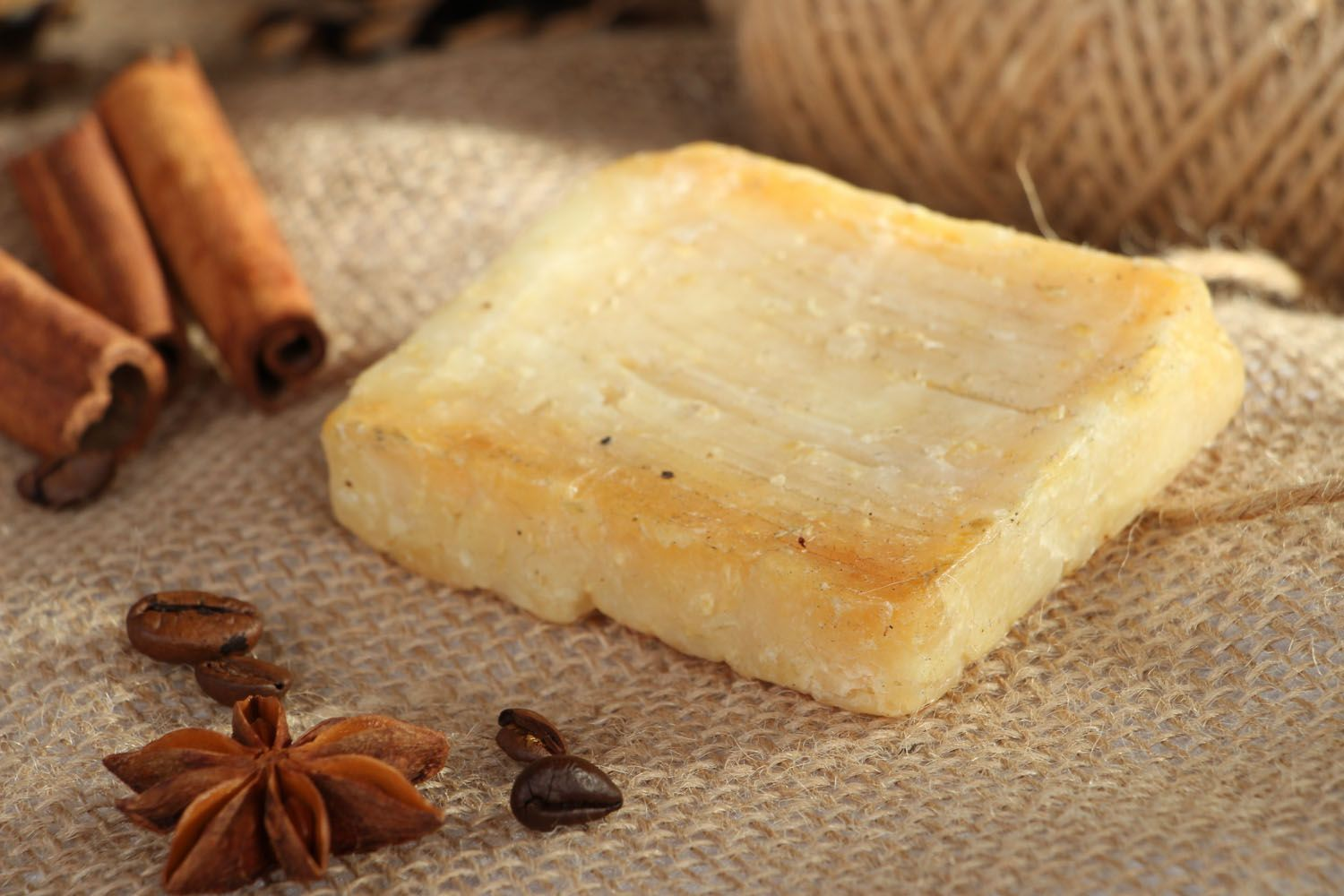 Scrub soap with coconut and rum photo 5