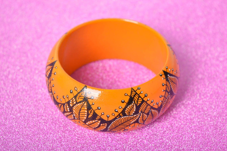 Handmade bright wrist bracelet summer beautiful bracelet elegant accessory photo 2