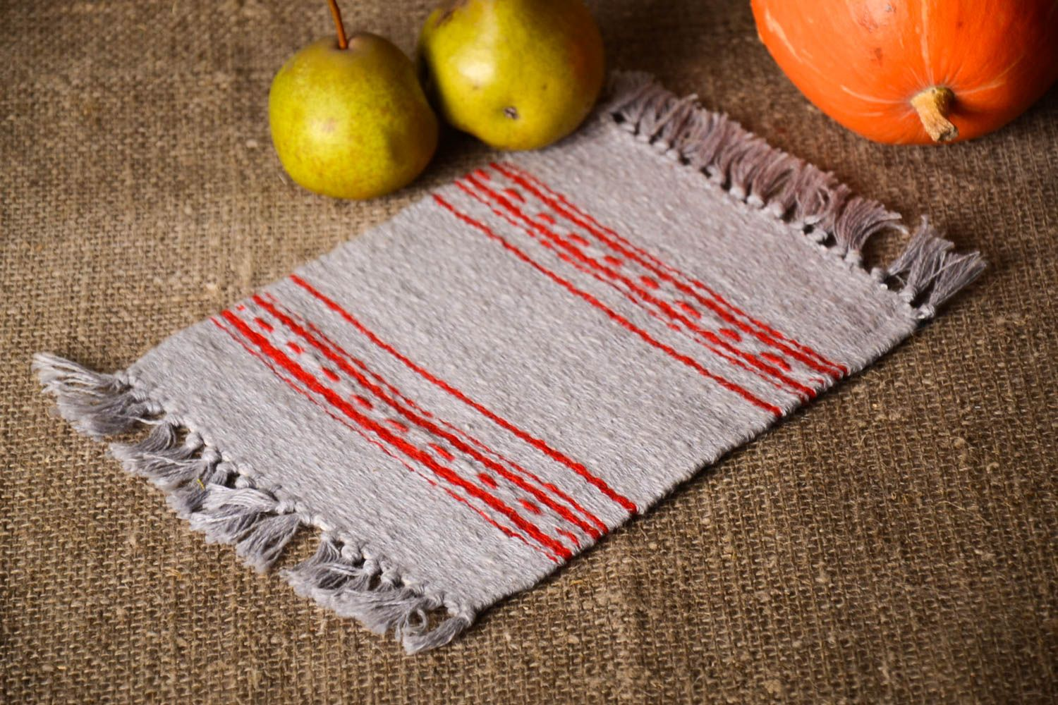 Madeheart Handmade Table Mat Dining Cloth Napkin