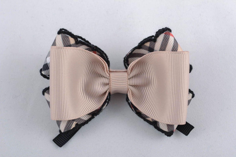 American bows made of ribbons photo 1
