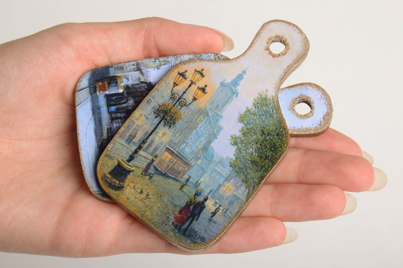 Handmade fridge magnet modern kitchen decor home ideas decorative use only photo 4
