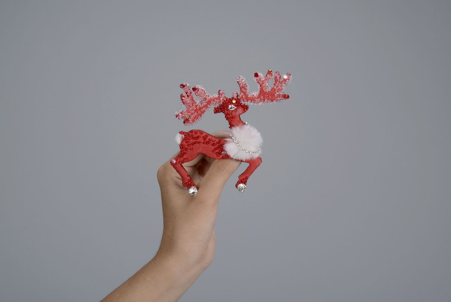 Brooch Reindeer photo 4