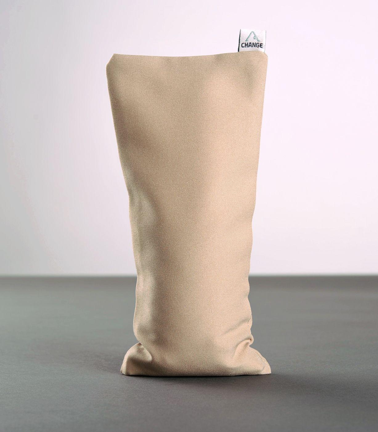 Yoga pillow with quartz sand photo 4