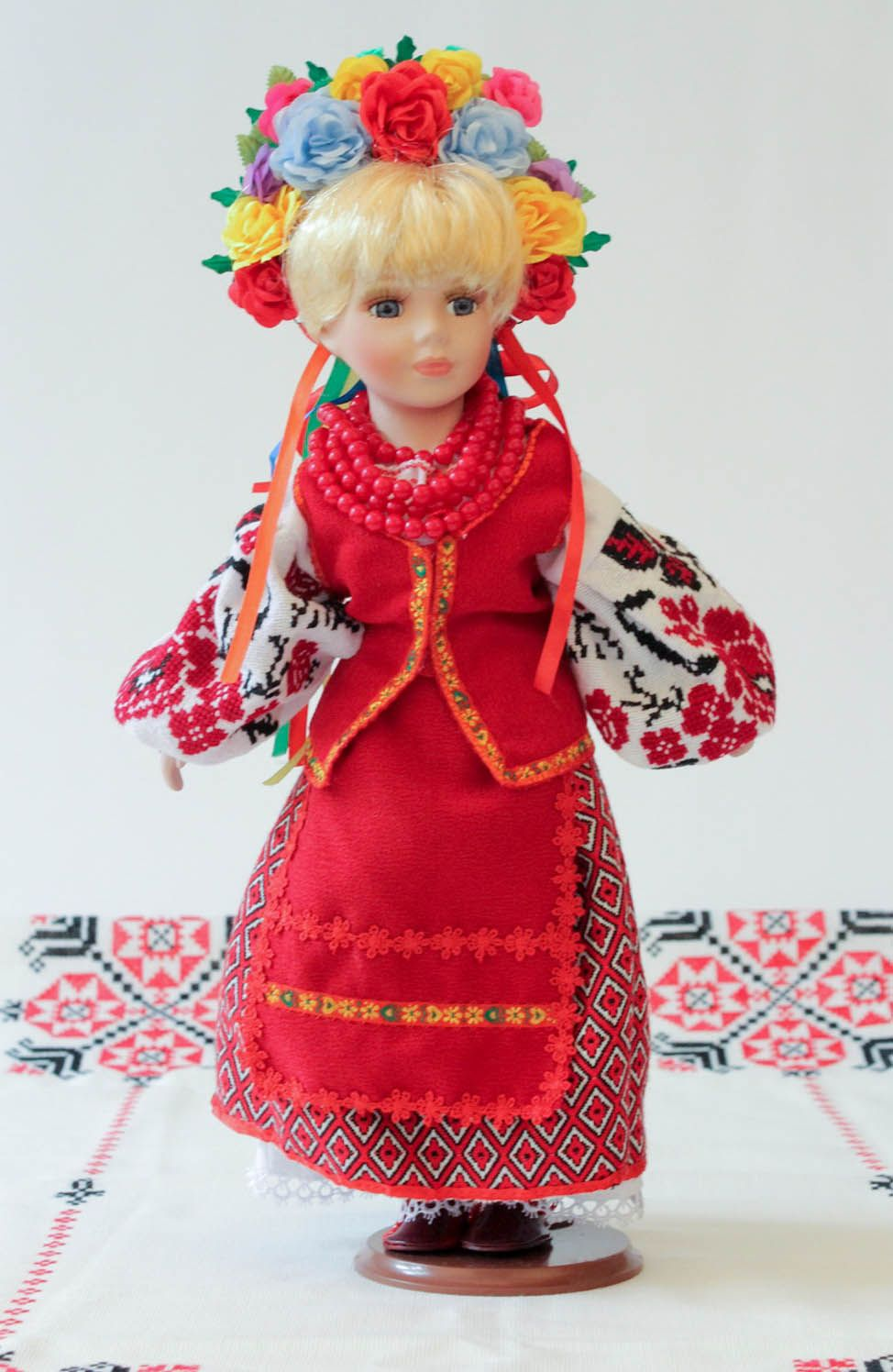 Doll in Ukrainian clothes photo 5