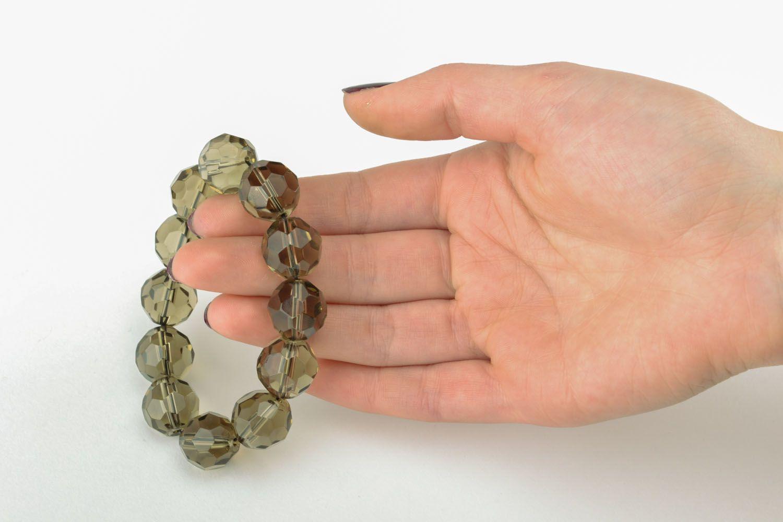 Czech glass bracelet photo 4