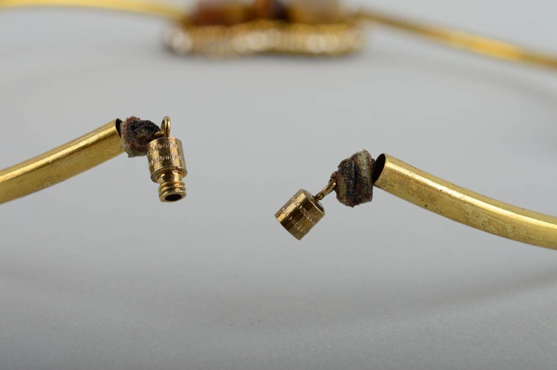 joyas de metal Collar de metal hecho a mano femenino bisutería de moda accesorio para mujer - MADEheart.com
