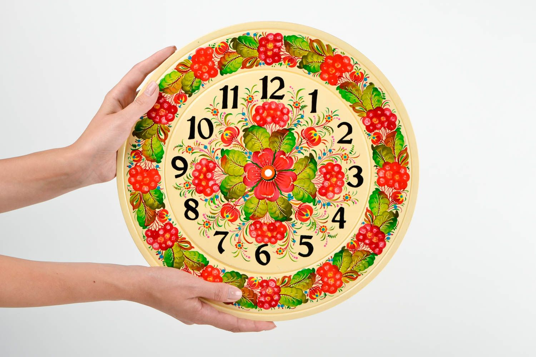 MADEHEART > Handmade designer wall clock beautiful wall decor art ...