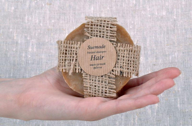 Natural soap-shampoo for hair photo 2