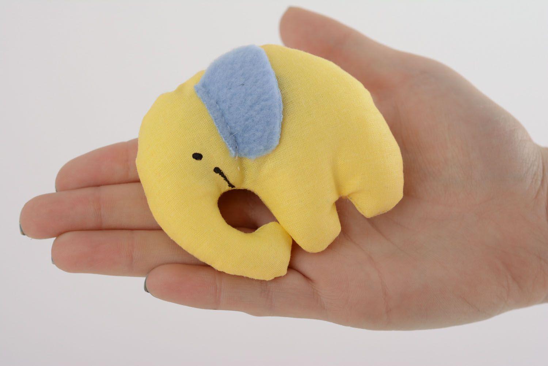 Textile toy Smiling Elephant photo 4