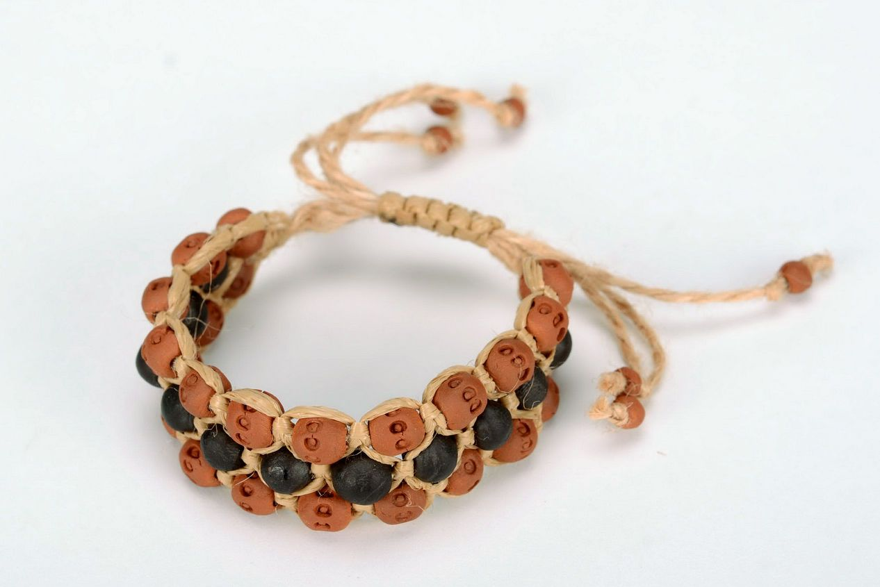 clay bracelets Clay bracelet - MADEheart.com