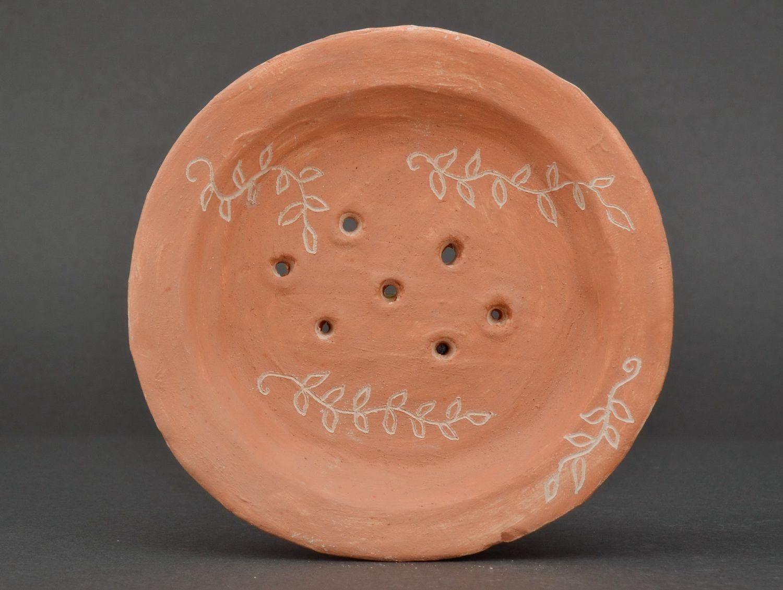 Clay soap dish photo 1