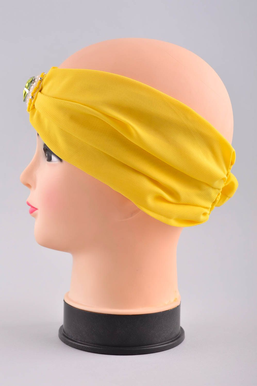 headwear Handmade designer headband stylish headband in Eastern style elegant turban - MADEheart.com