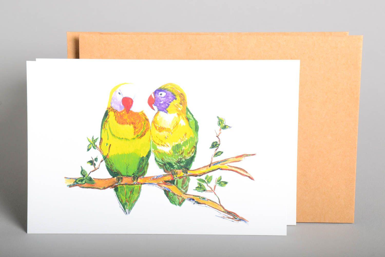 Handmade greeting cards birthday cards designer postcards modern painting photo 2