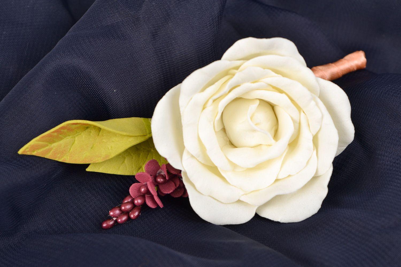 Madeheart Handmade Tender Flower Boutonniere Made Of Foamiran