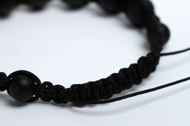 Beaded bracelet woven bracelet for men fashion jewelry present for friend photo 4