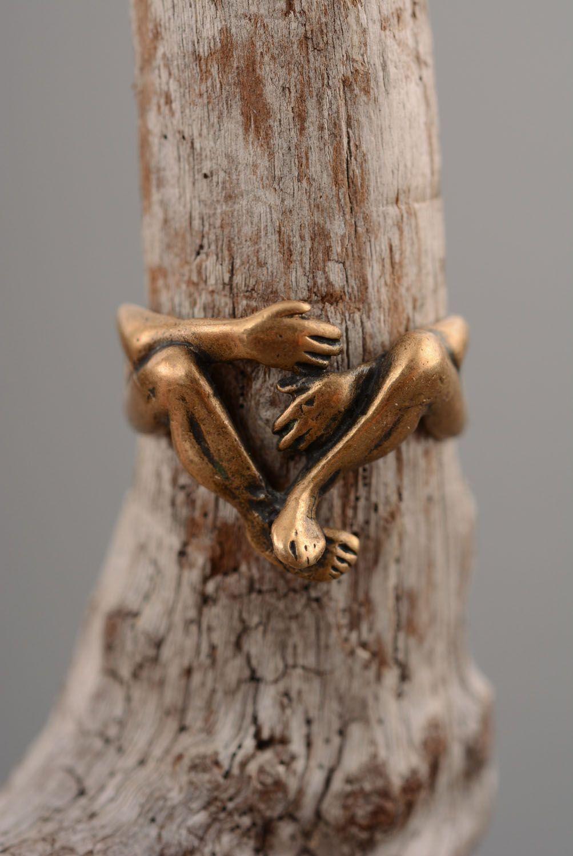 Кольцо из бронзы Вечность фото 2
