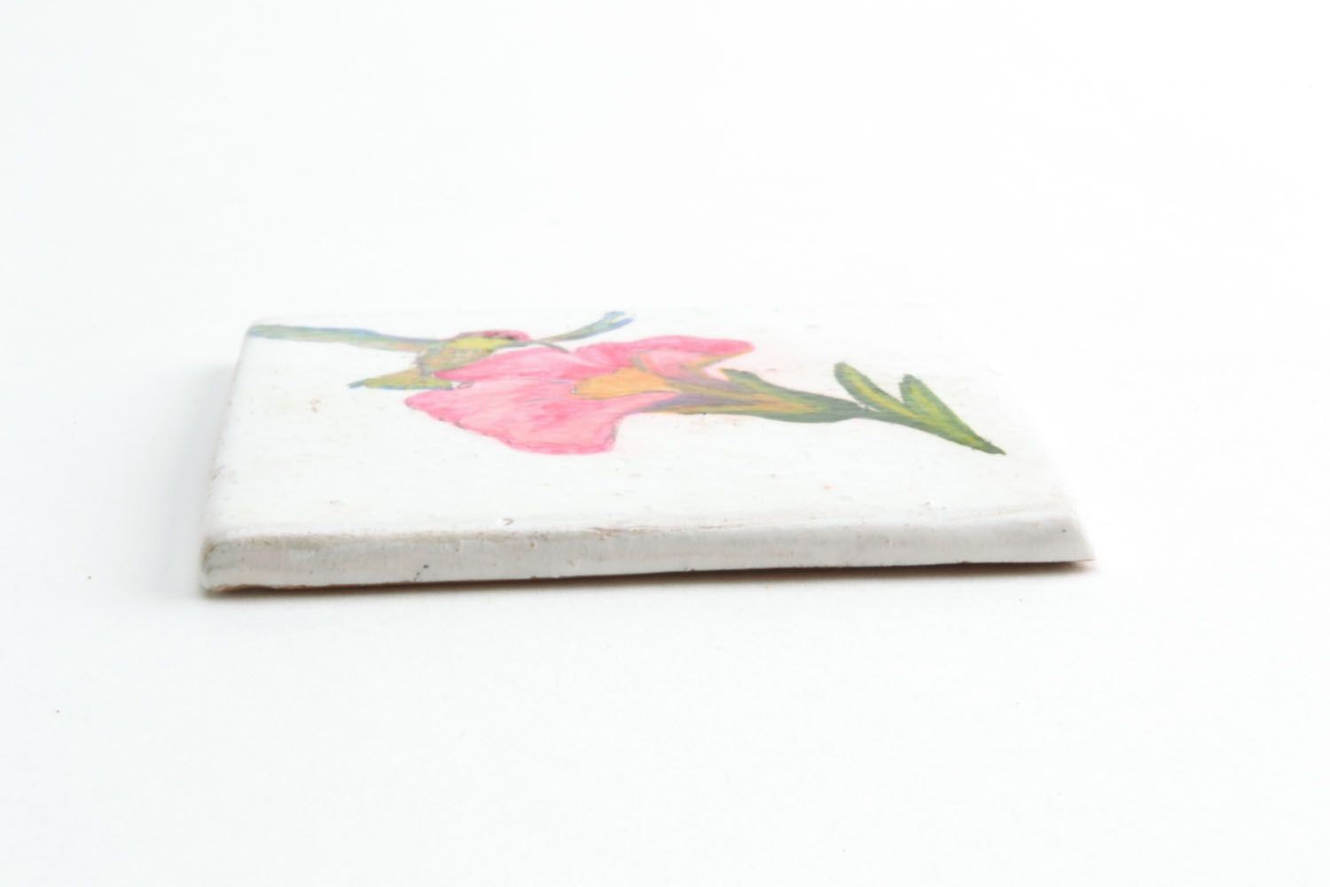 Homemade ceramic fridge magnet photo 5