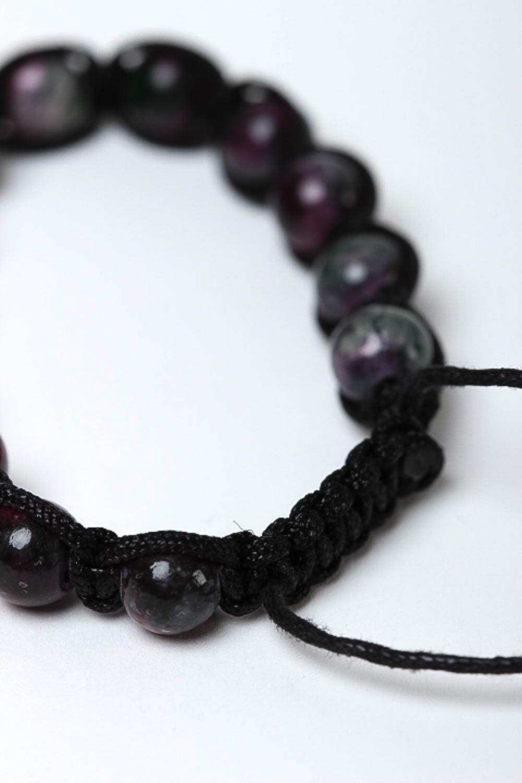 Handcrafted jewelry bead bracelet gemstone jewelry womens accessories photo 4