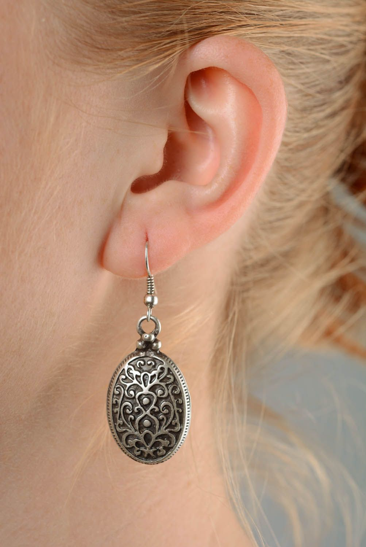 Ohrringe aus Metall Byzanz foto 3