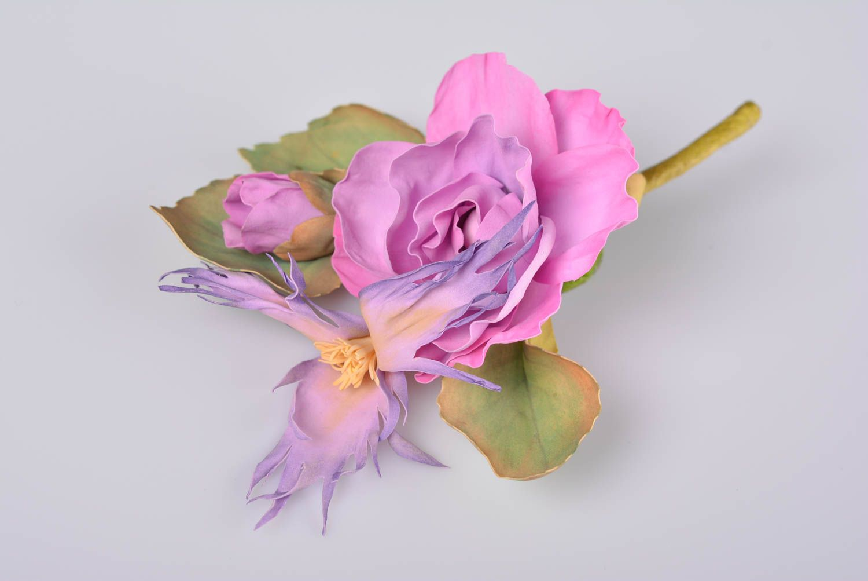 Madeheart Beautiful Womens Handmade Foamiran Flower Brooch Of